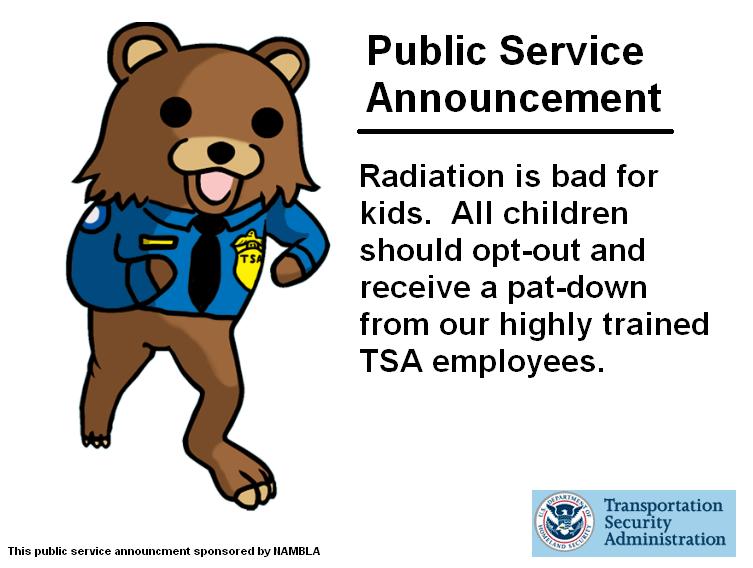 PedoBear: New TSA Mascot
