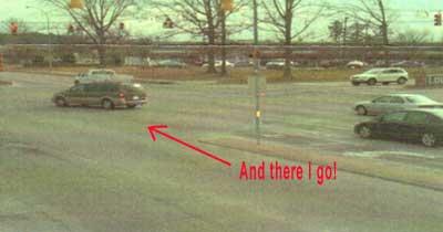 Running a red light 2